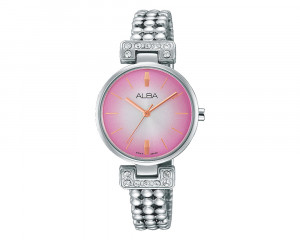 ALBA Ladies' Hand Watch Fashion Stainless Steel Band & Water Resistant AH8265X1