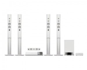 Sony Home Theater 1200 W with 3D Blu-ray Disc & White color BDV-N9200WL