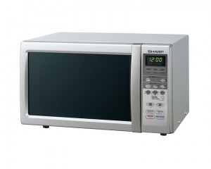 Sharp Microwave 22 Litre 800 Watt & Silver Color R-241R(S)