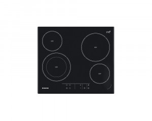 HOOVER Electric Built-In hob vitro Ceramic 60cm with 4 Zones & Child Safety Lock HVE642