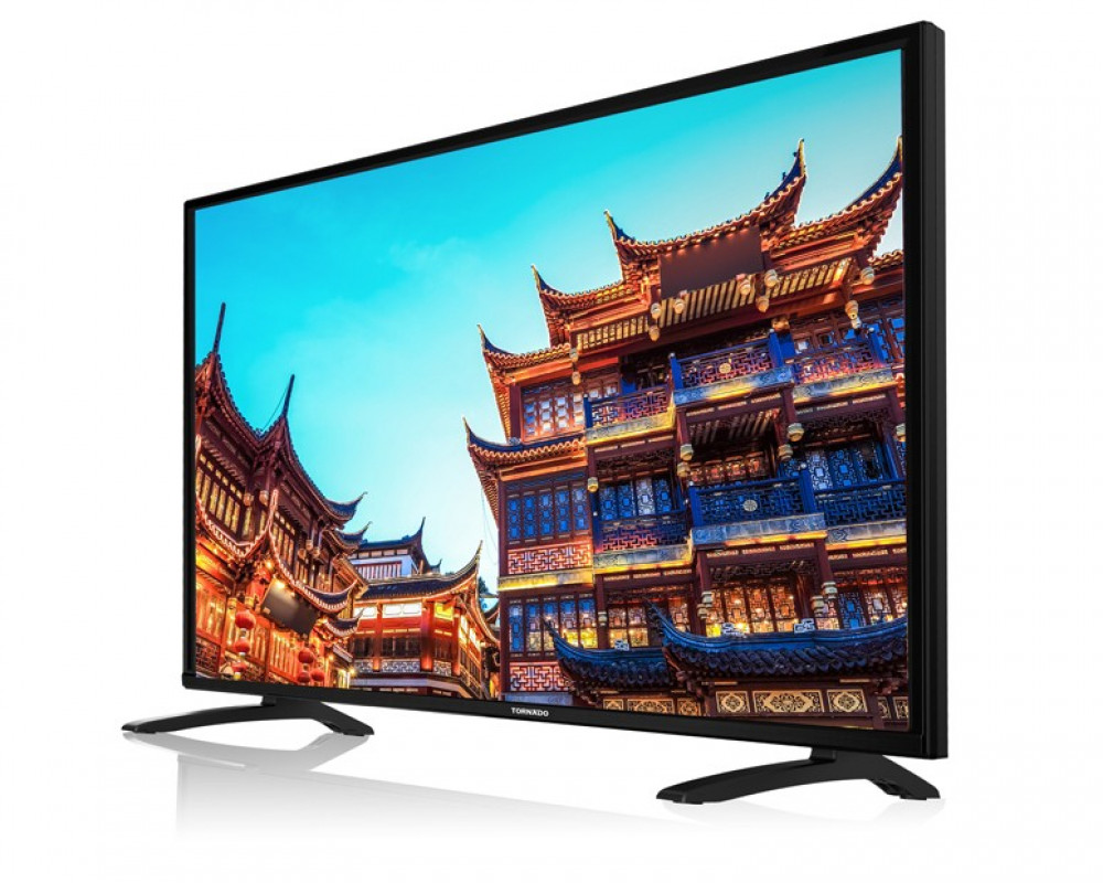 Tornado LED TV 43 Inch Full HD with 2 USB and 3 HDMI Inputs 43ED4460