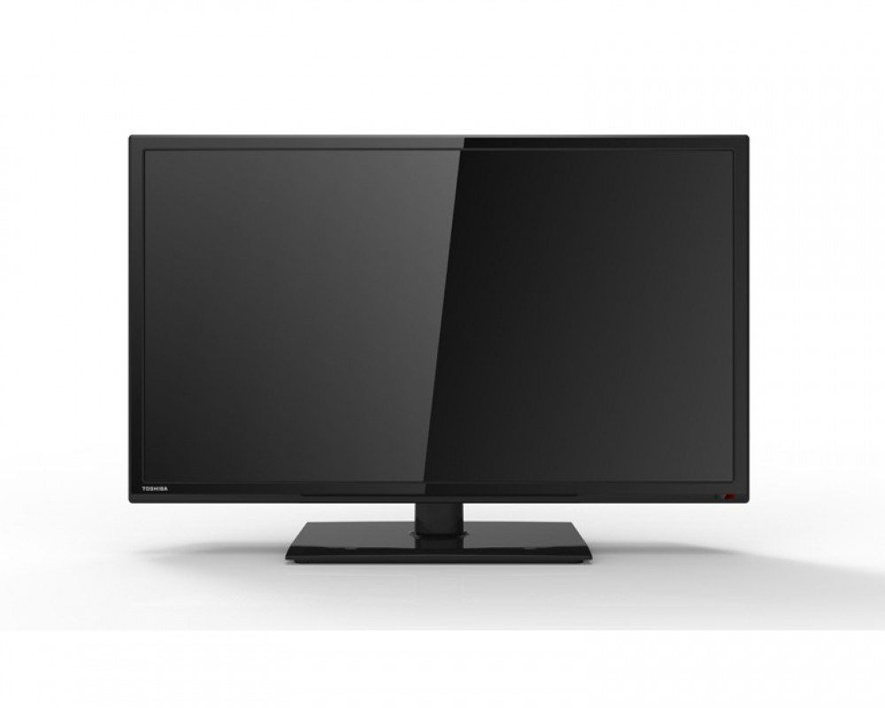 Toshiba LED TV 24 Inch HD With USB Movie 24S2510EA