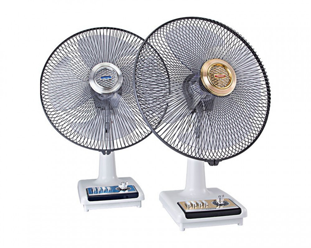 Toshiba Desk Fan 16 inch with 4 Plastic Blades ES625(PS)