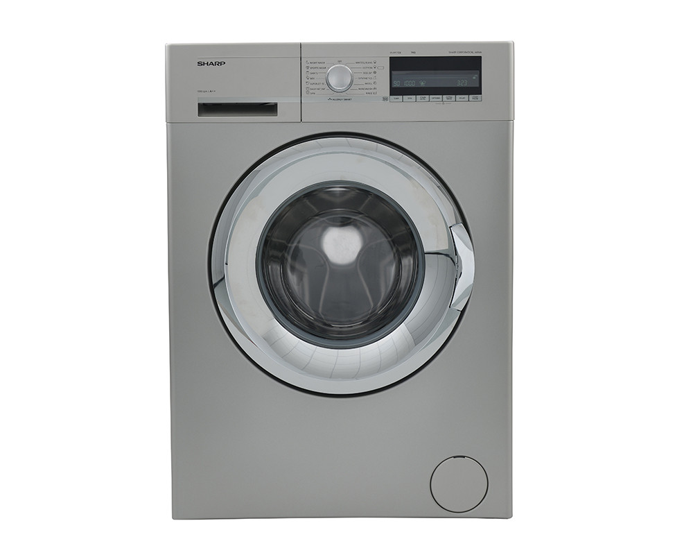 Sharp Washing Machine 7Kg Fully Automatic in Silver color ES-FP710BX3-S