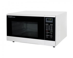 Sharp Microwave 1100 Watt 32 Litre & White Color R-340R(W)