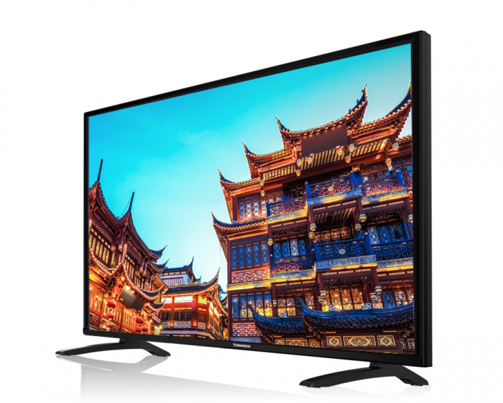 Tornado LED TV 49 Inch Full HD With 2 USB and 3 HDMI 49ED4460