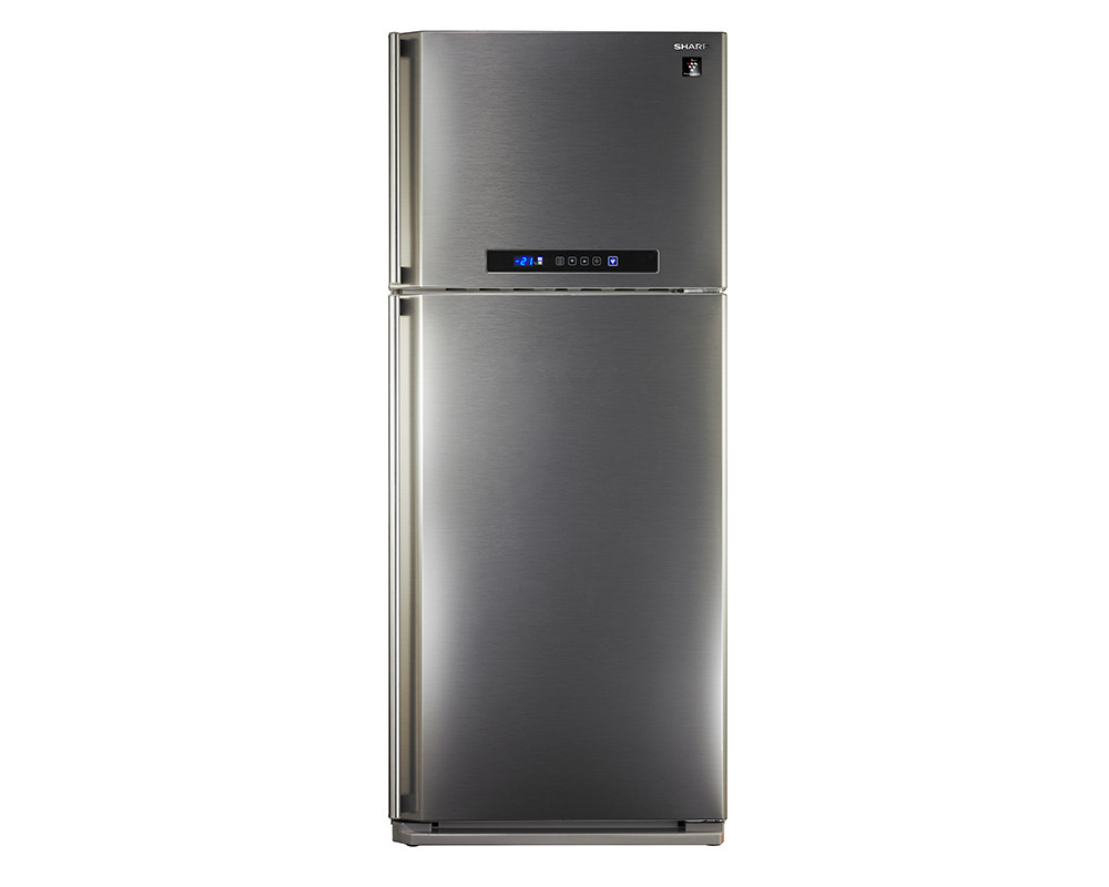 Sharp Refrigerator 2 Door 450 Litre Stainless Color with Digital Screen & No Frost SJ-PC58A(ST)