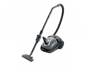 HITACHI Vacuum Cleaner 2000 Watt with Nano Titanium Filter In Red × Black and Steel Gray Color CV-BA20V