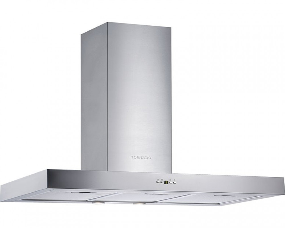 Tornado Kitchen Cooker Hood Stainless 60cm With Touch Control Panel HO60DS-1