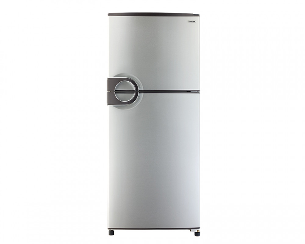 Toshiba Refrigerator 2 Door 335L Silver Color With Plasma and No frost GR-EF40P-J-S