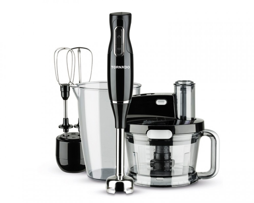 Tornado Hand Blender 1000W with Stainless Steel Blade & Turbo Speed THB-1000MK