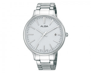 ALBA Ladies' hand watch Fashion Light Grey dial & Stainless steel band AS9857X1