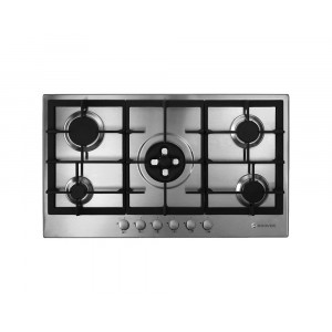 HOOVER Built-in Hob Gas 90cm 5 Burners Stainless Steel HG953/1SXGH