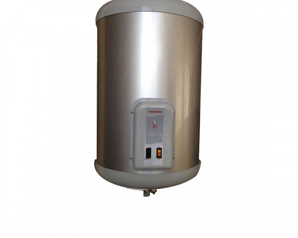 Tornado Electric Water Heater 55 litre Silver Color EHA-55TSM-S