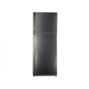 SHARP Refrigerator 2 door 340 Litre Stainless color with Nano Deodorizer Filter SJ-48C(ST)