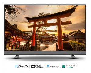 Toshiba Smart LED TV 32 Inch HD with Smart Opera & 2 HDMI and 2 USB inputs 32L5750EA