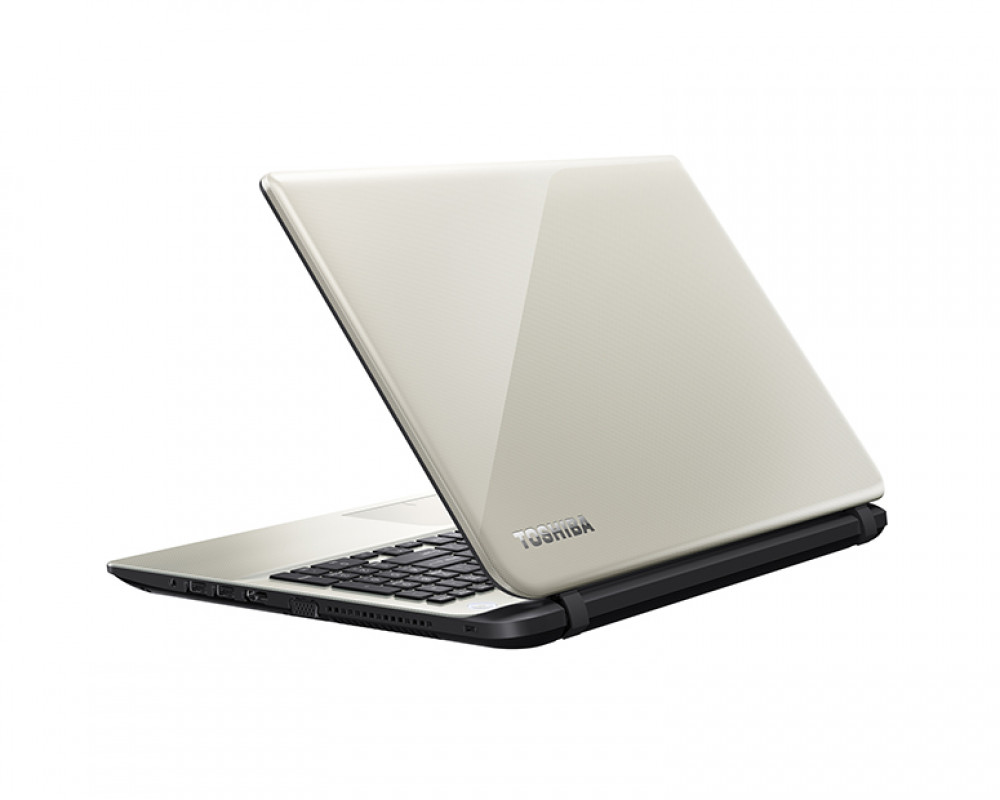 Toshiba Laptop Satellite 1TB & 8GB RAM with Windows 8.1 & Glossy Gold color L50t-B1383