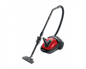Hitachi Vacuum Cleaner 1800 Watt with Nano titanium Filter & Red and White Color CV-BA18