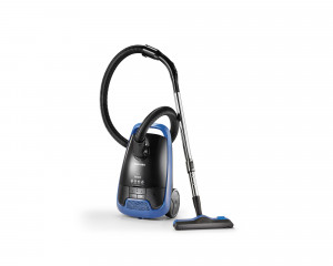 TOSHIBA Vacuum Cleaner 1800 Watt in Black X Blue color with curtain brush VC-EA1800B