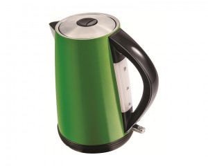 Tornado Stainless Steel Kettle 2200 Watt 1.7 Liter in Green Color TKS-2217G