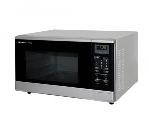 Sharp Microwave 1100 Watt 32 Litre in Silver Color R-340R(S)