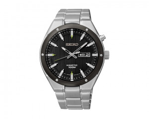 SEIKO Men's Hand Watch Kinetic Stainless Steel Band & 1 Year Warranty SMY151P1