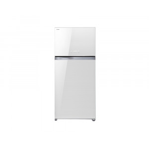 Toshiba Refrigerator 601 Litre Inverter with 2 White Glass Door GR-WG69UDZ-E(ZW)