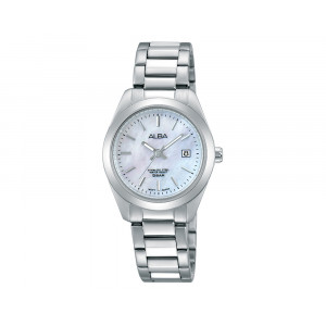 ALBA Ladies' Hand Watch Fashion Stainless Steel Band & Water Resistant AH7G33X1