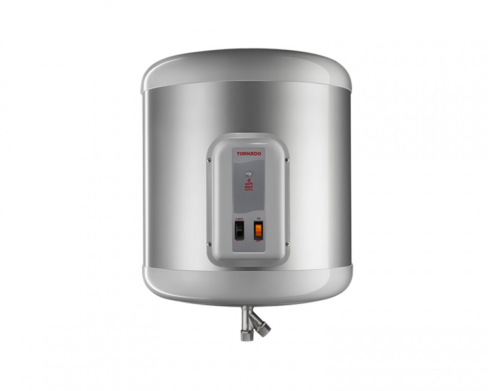 Tornado Electric Water Heater 45 litre Silver Color EHA-45TSM-S