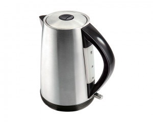 Tornado Stainless Steel Kettle 2200 Watt 1.7 Liter in Silver Color TKS-2217