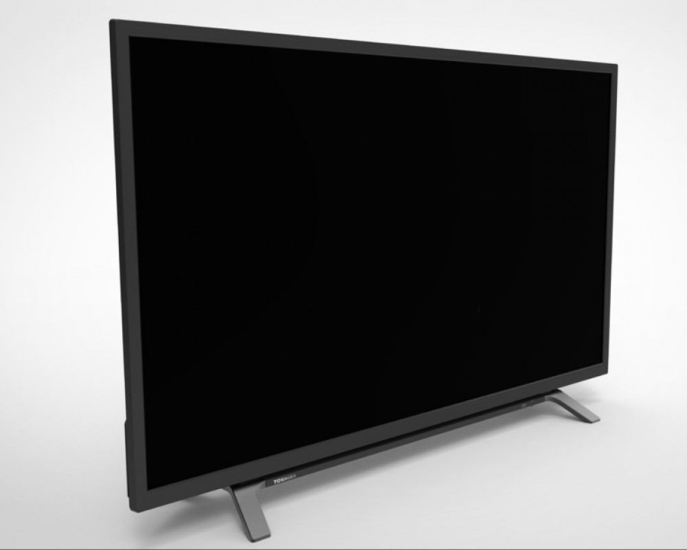 Toshiba LED TV 43 Inch Full HD with 1 USB and 2 HDMI Inputs 43L160MEA