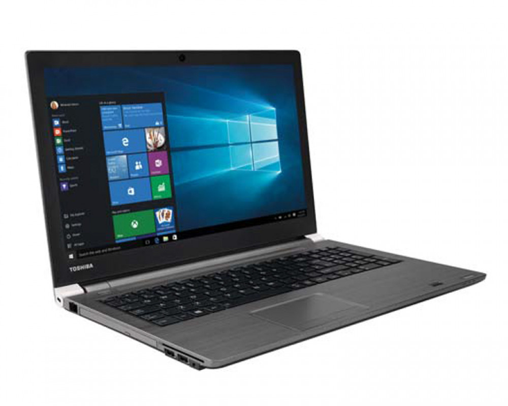 Toshiba Notebook Tecra 500GB & 8GB RAM with Windows 10 & Steel Grey color A50-C-26P