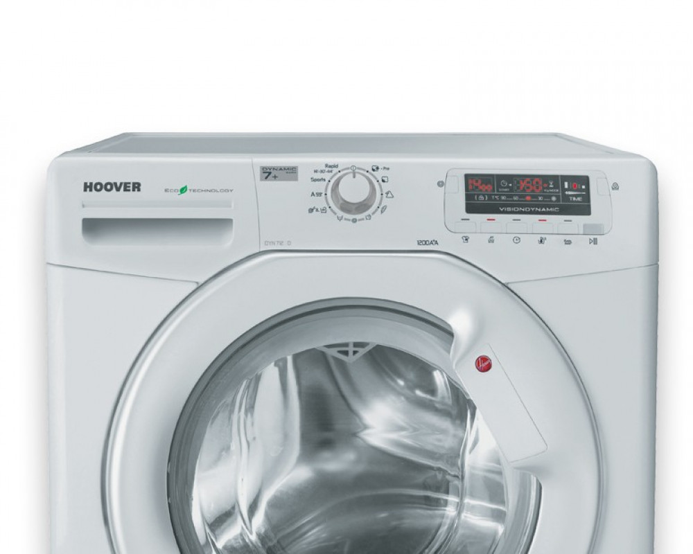 Hoover Washing Machine 7Kg Fully Automatic White DYN7125D2-EGY