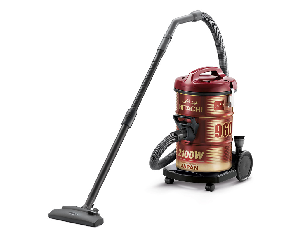 hitachi pail can vacuum cleaner 2100 watt cv