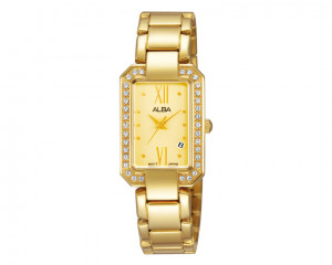 ALBA Ladies' hand watch Fashion Stainless steel band & Water resistant AH7D76X1