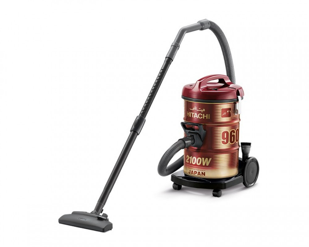 Hitachi Pail Can Vacuum Cleaner 2100 Watt with Blower Function and Dusting Brush CV-960Y