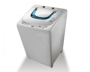 Toshiba Washing Machine 10KG Top Automatic with Pump in White color AEW-9770SUP