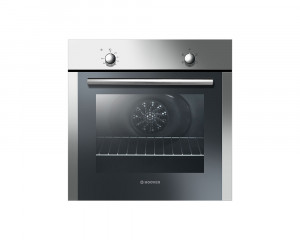 HOOVER Electric Oven 60cm Stainless Steel with Convection Fan and Grill HOC024/6X