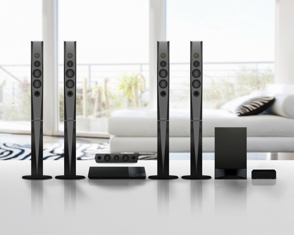 Sony 3D Blu Ray Home Theater System Black BDV-N9200W _1