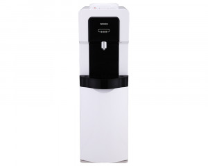 Tornado Water Dispenser with cabinet and 1 faucet in Black x White color WDM-H40ABE-WB