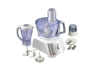 Tornado Food Processor 1000 Watt kitchen machine with 2 Liter Bowl & 1.5 Liter Blender FP-1000SG