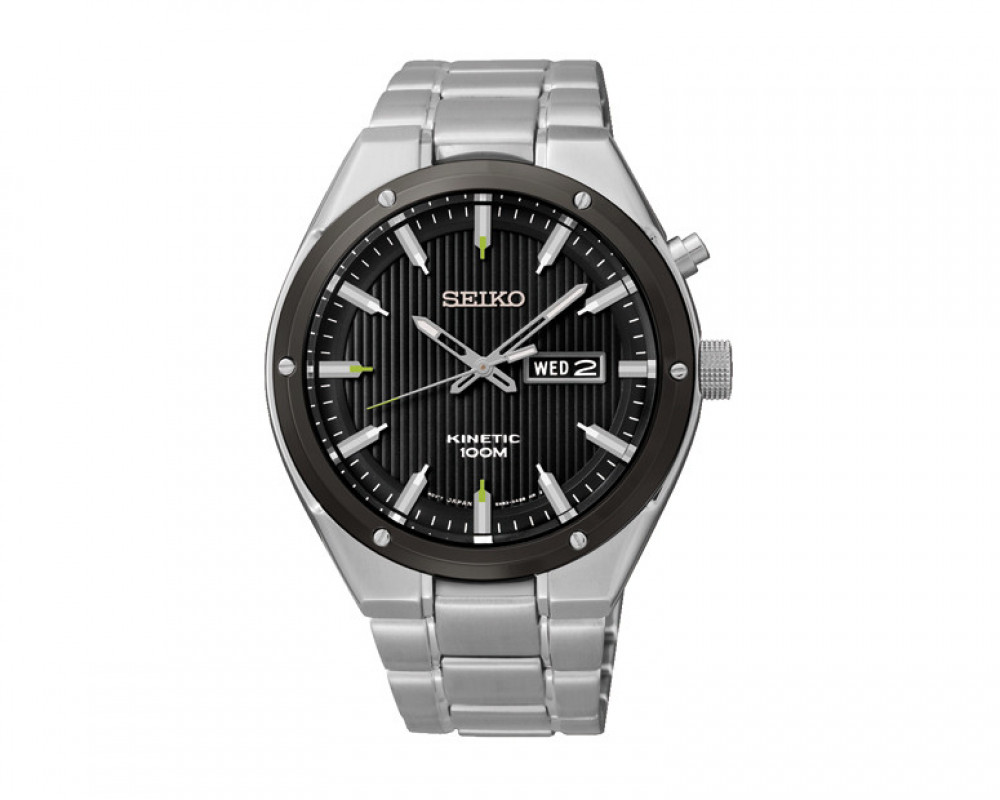 Seiko Men's Hand Watch Kinetic SMY151P1