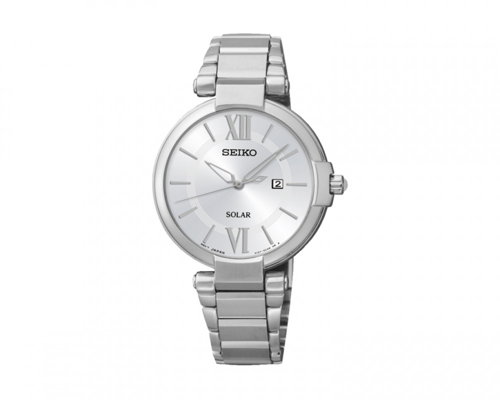 SEIKO Ladies' Hand Watch Solar with 1 year international warranty SUT153P1
