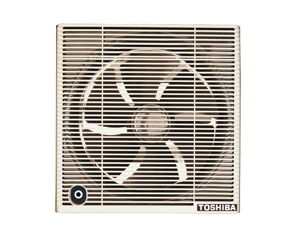 Toshiba Bathroom Ventilating Fan 30cm with Brown & Off White Colors VRH30S1