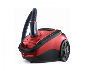 Toshiba Vacuum Cleaner 1800 Watt with Carpet Nozzle and Telescopic Pipe & Black X Red Color VC-EA210