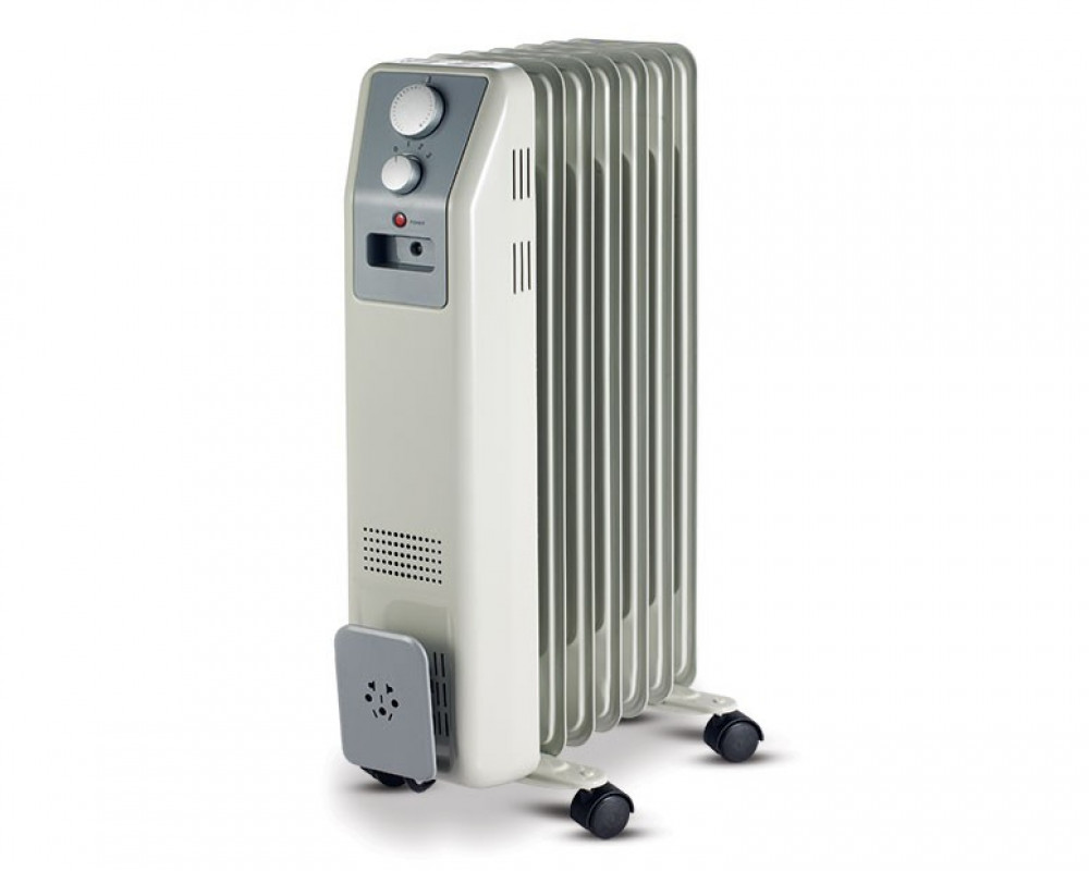 Tornado Oil Heater 7 Fins 1500 Watt With 3 Heat Settings TOH-7
