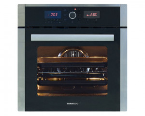 Tornado Electric Oven Stainless Steel With Fan And Grill 64 Liters Digital OV60EDFFS-3