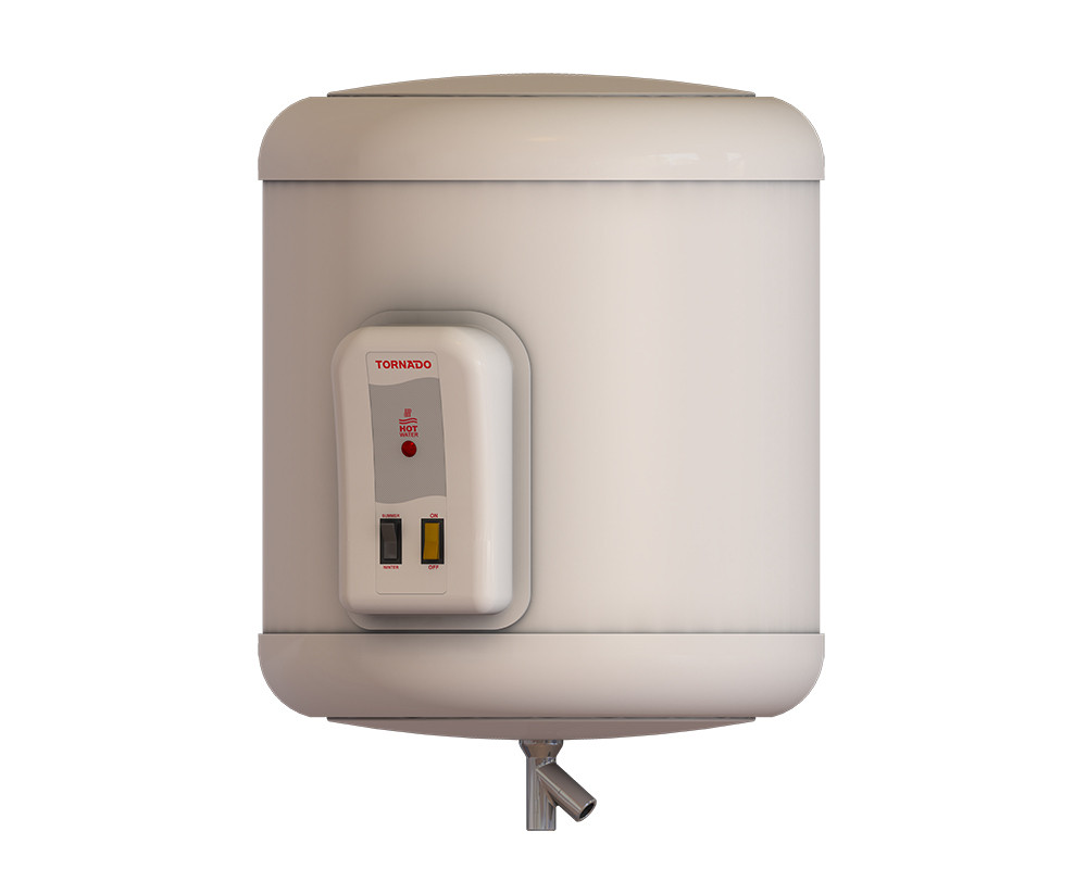 Tornado Electric Water Heater 35 litre Off White Color EHA-35TSM-F