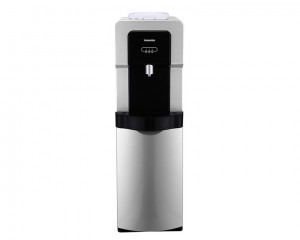Tornado Water Dispenser with cabinet and 1 faucet in Black x Silver color WDM-H40ABE-SB