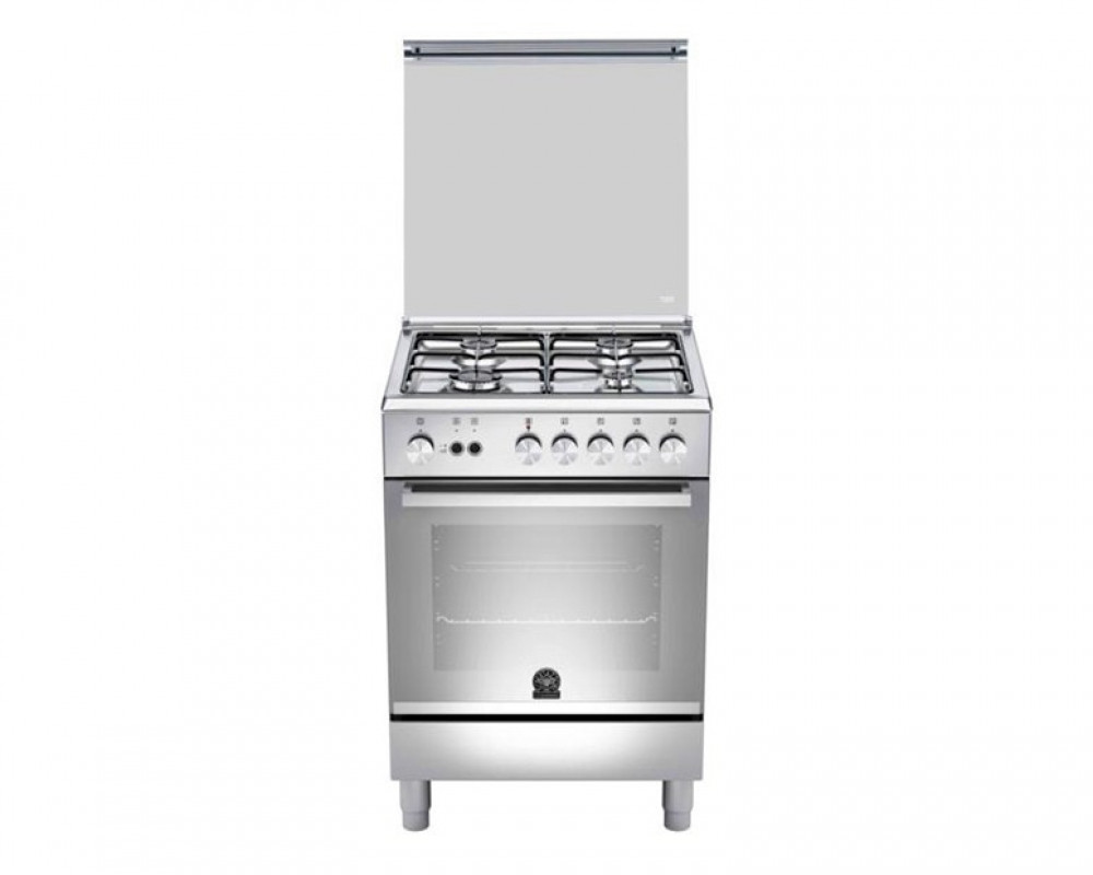 La Germania Cooker 4 Gas Burners Stainless 60X60 with Grill & Oven TU64031DX